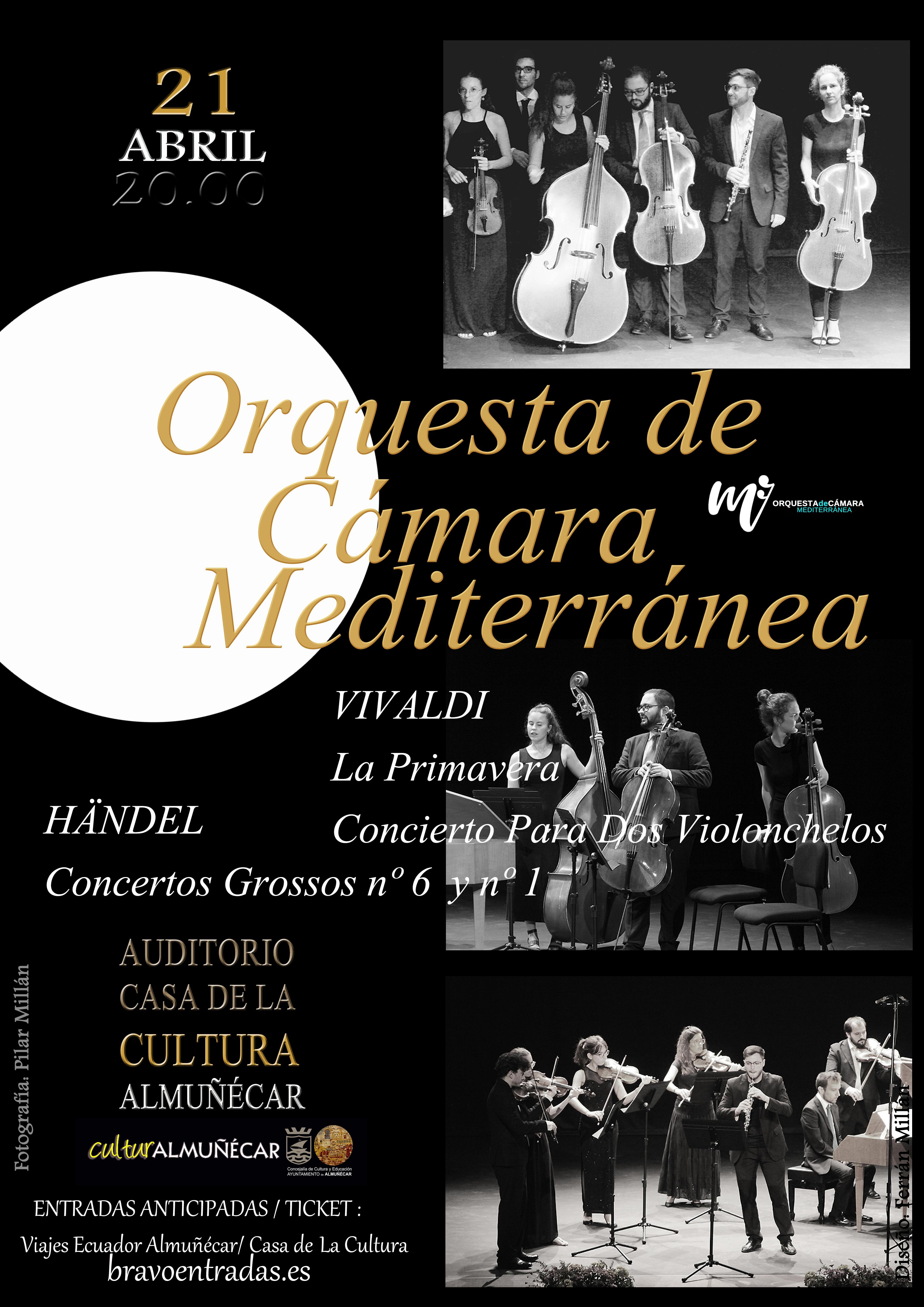Concierto de Primavera de la Orquesta de Camara Mediterránea en Almuñécar