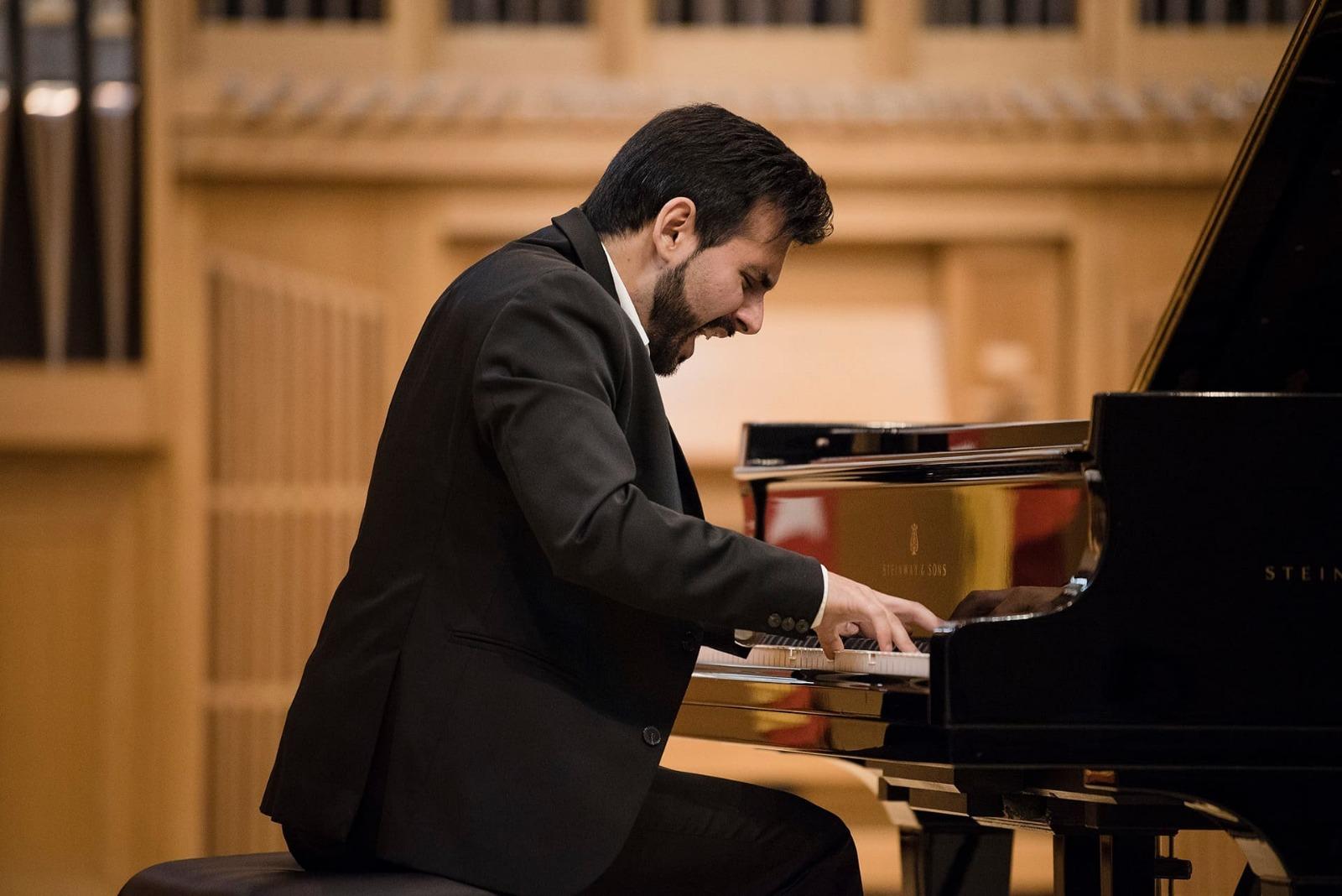 Concierto para Piano y Orquesta de Ravel de la Joven Orquesta Mediterránea