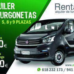 Rentae alquiler de furgonetas en Logroño