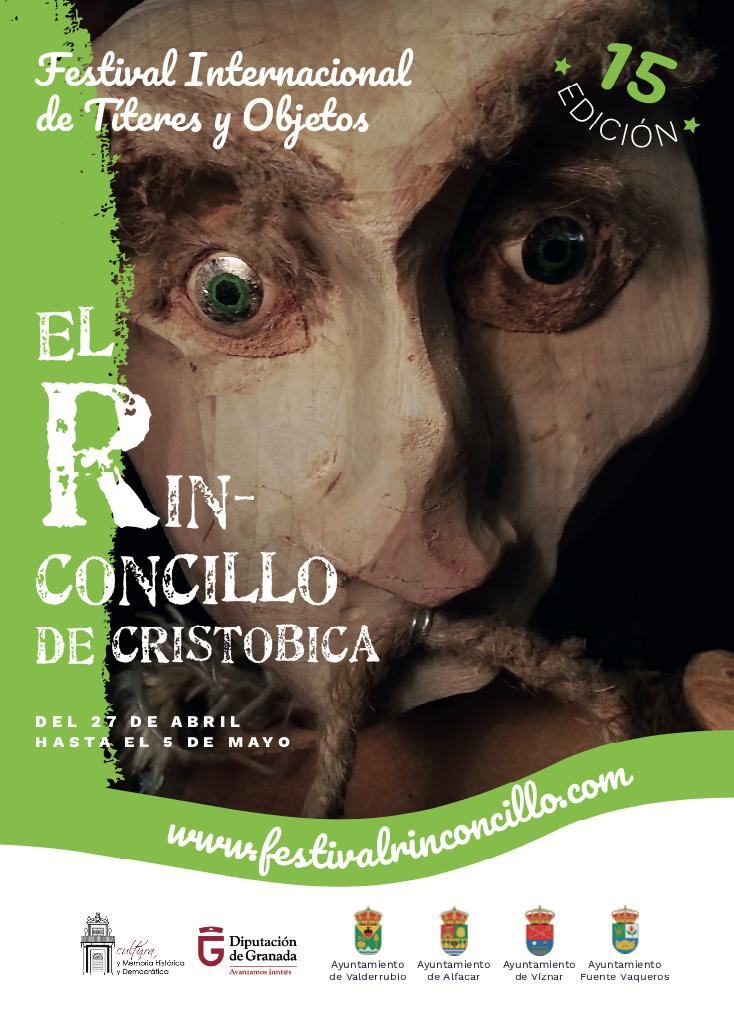 Festival Internacional de Títeres y Objetos El Rinconcillo de Cristobica 2019-Programación completa