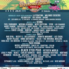 Weekend Beach 2019 confirma a SKINDRED y anuncia su cartel por días