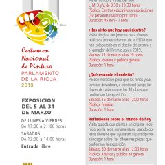 Certamen Nacional de Pintura del Parlamento de La Rioja