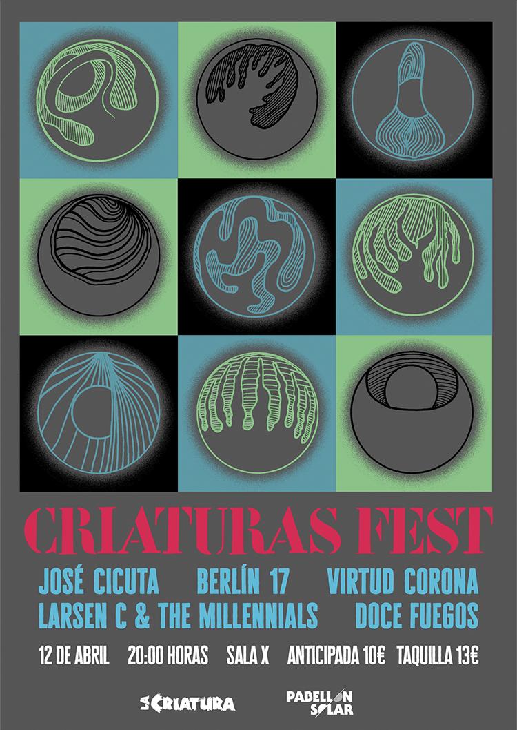Criaturas Fest en Sala X de Sevilla