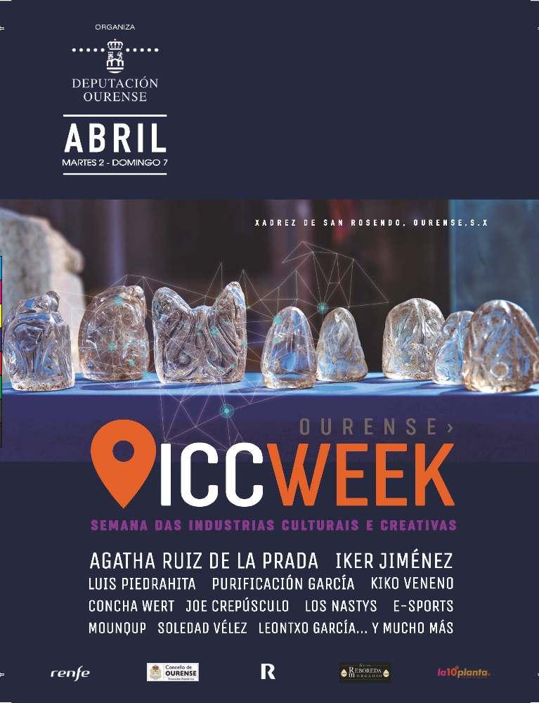 ICC week, semana das industrias culturais en Ourense