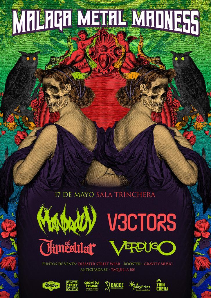 Málaga Metal Madness Festival en La Trinchera de Málaga