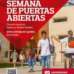 Jornadas Informativas y de Puertas Abiertas en la Universidad de La Rioja