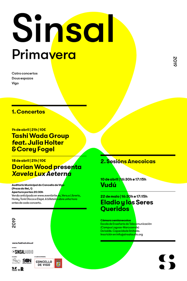 Festival Sinsal primavera, ciclo de conciertos en Vigo