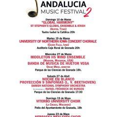 Andalucía Music Festival 2019 reunirá a orquestas, grupos y solistas americanos en Granada