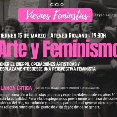 Ciclo Viernes Feministas en el Ateneo Riojano