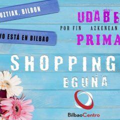 Primavera en los comercios de Bilbao