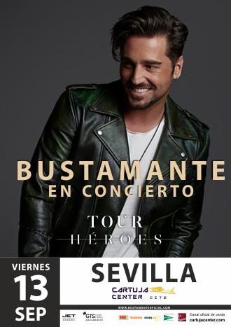 David Bustamante presenta Tour Héroes en el Cartuja Center de Sevilla