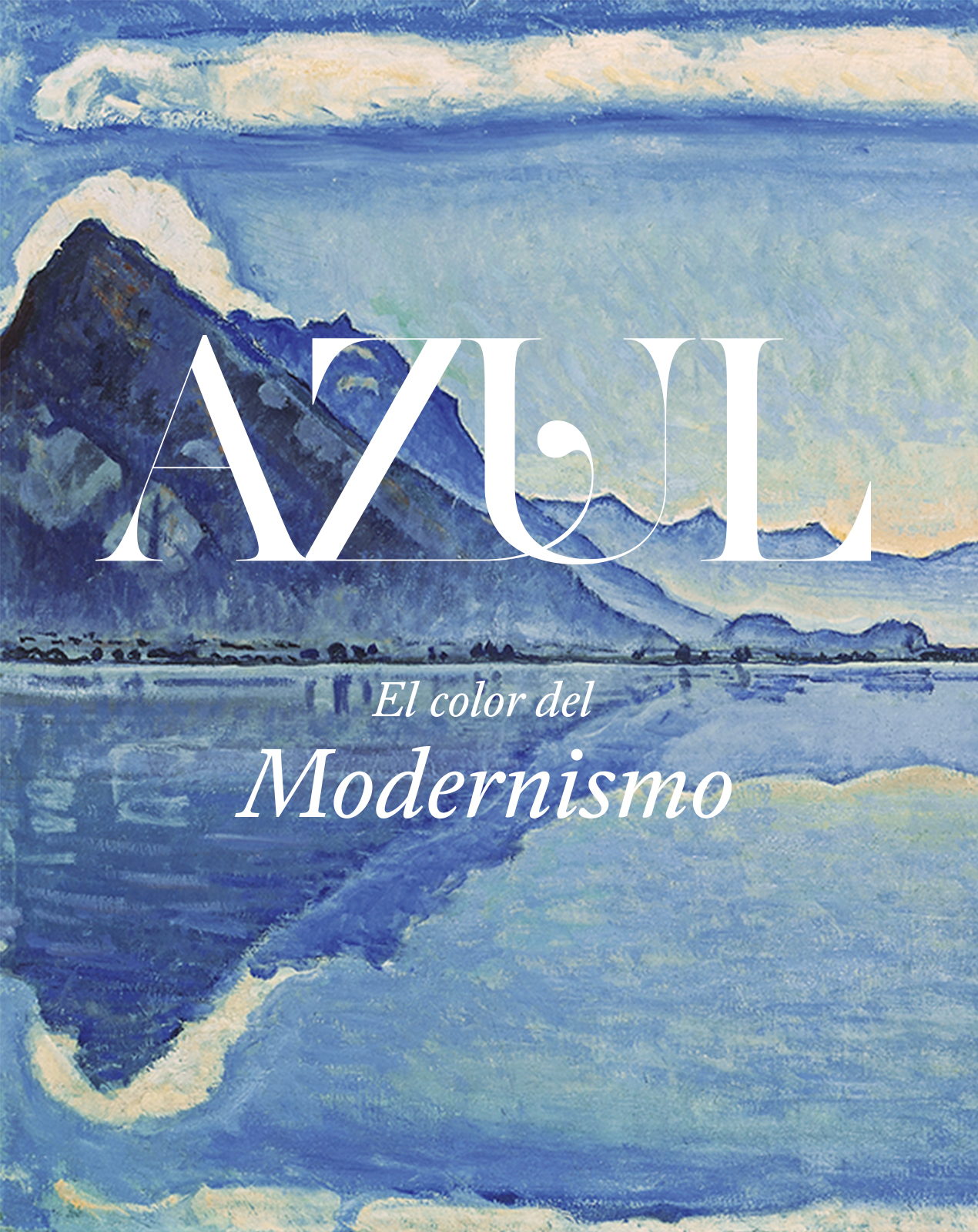 Exposición Azul en Color del Modernismo en Caixa Forum Sevilla