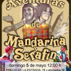 Las Aventuras de Mandarina y Serafín en La Cochera Cabaret de Málaga