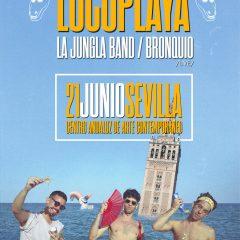 Locoplaya + La Jungla Band + Bronquio dan la bienvenida al verano en el CAAC de Sevilla
