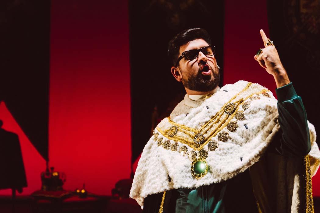 Manu Sánchez presenta El Rey Solo en el Cartuja Center CITE de Sevilla