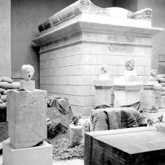 Arqueología en el exilio en Museu d'Arqueologia de Catalunya (MAC) en Barcelona