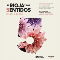 Mayo, el mes del olfato. Regresa El Rioja y los 5 Sentidos