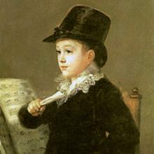 'Marianito Goya' en el Museo Goya en Museo Goya. Colección Ibercaja en Zaragoza