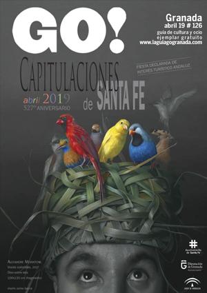 Aquí puedes leer online la Guía del Ocio GO GRANADA Abril 2019, planes y actividades en Granada