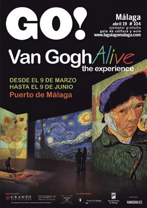 Aquí puedes leer online la Guía del Ocio GO MÁLAGA Abril 2019, planes y actividades en Málaga