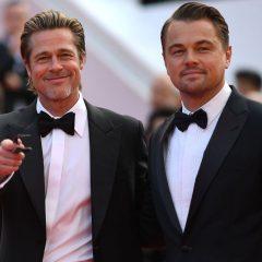 Brad Pitt y Leonardo DiCaprio encienden la alfombra roja de Cannes