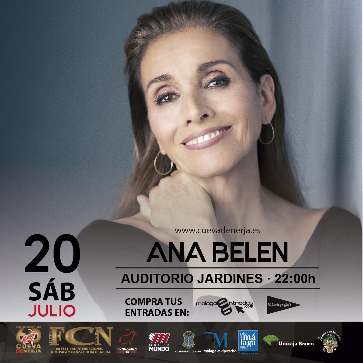 Ana Belén presenta Vida en la Cueva de Nerja en Málaga