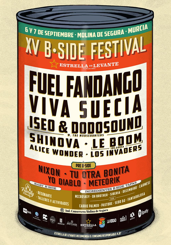BSIDE Festival 2019, que se celebrará el 6 y 7 de septiembre en Molina de Segura (Murcia)