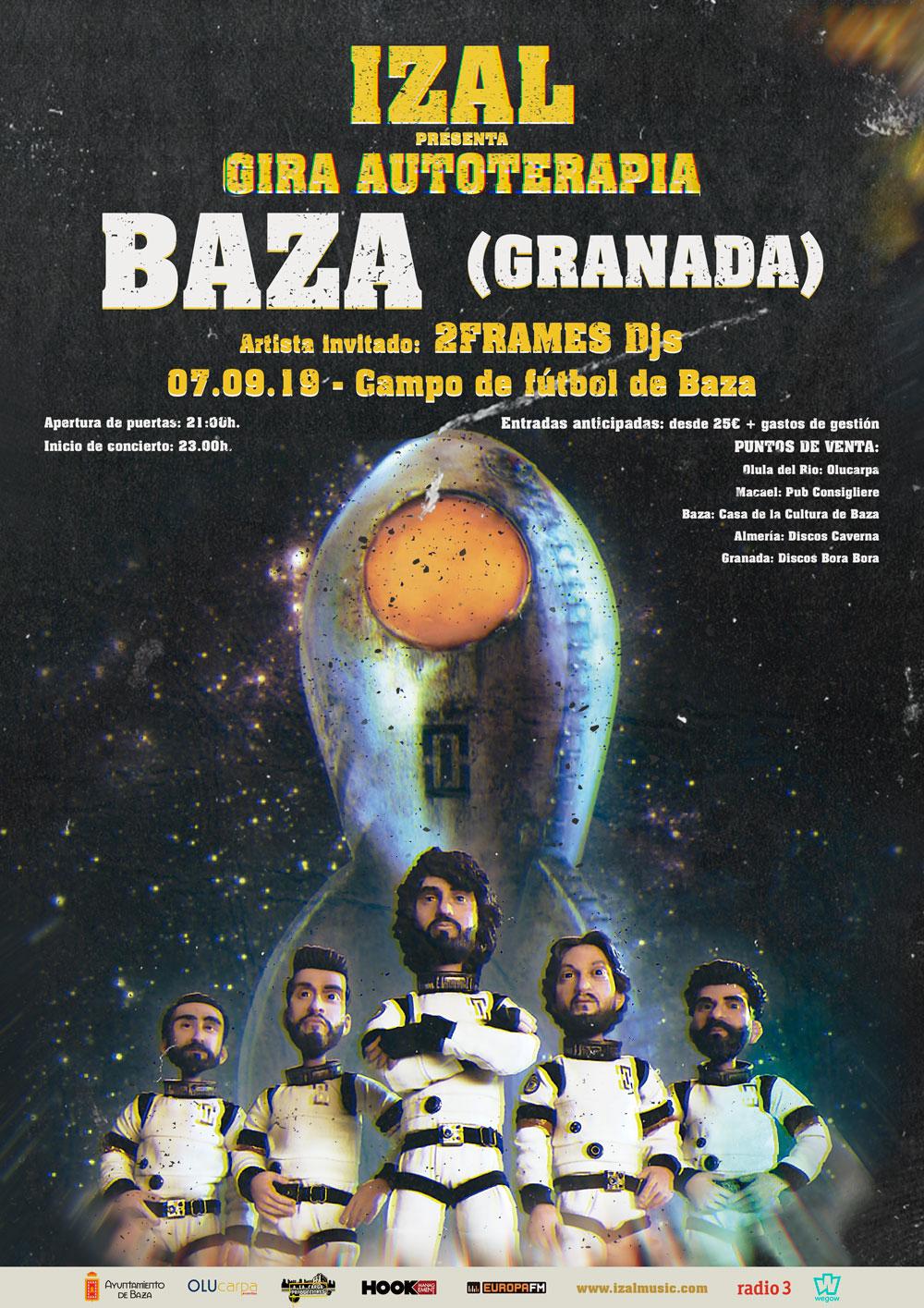 El 7 de septiembre Izal en Baza