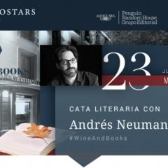 Wine & Books con Andrés Neuman presentando Fractura en  Eurostars Washington Irving 5*