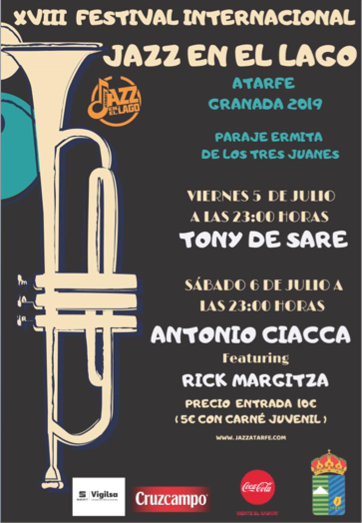 XVIII Festival Internacional Jazz en el Lago Atarfe 2019