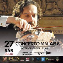 Concerto Málaga en la Cueva de Nerja en Málaga