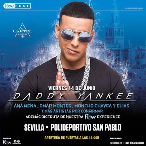 Daddy Yankee en el Palacio de deportes San Pablo de Sevilla