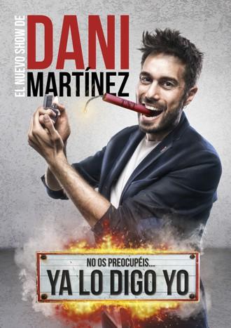 Dani Martínez presenta Ya lo digo Yo en Cartuja Center CITE de Sevilla
