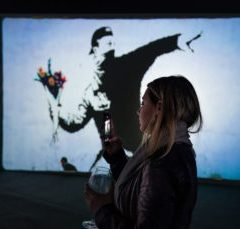 Exposición Banksy – The Art of Protest en La Térmica de Málaga