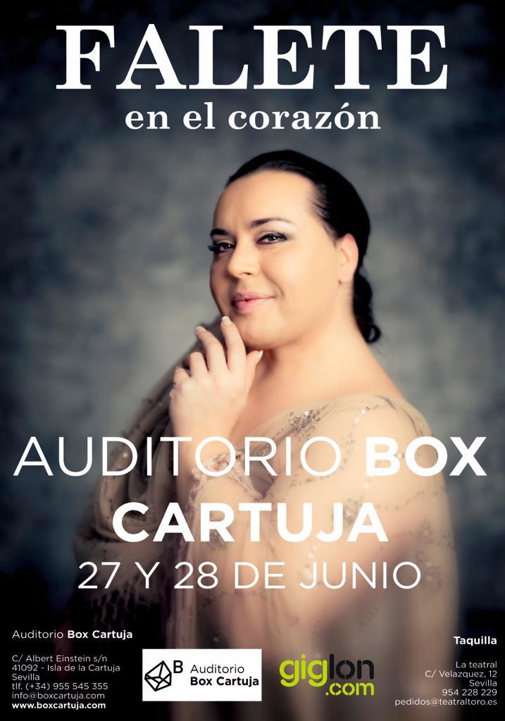 Falete presenta En el Corazón en Box Cartuja de Sevilla