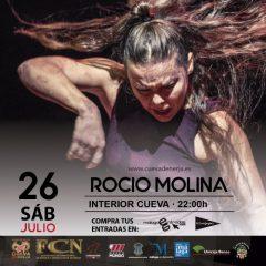 Rocío Molina presenta Impulso en la Cueva de Nerja en Málaga