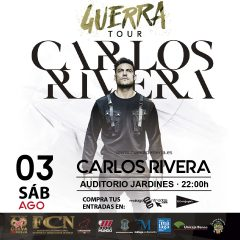 Carlos Rivera presenta Guerra en la Cueva de Nerja en Málaga