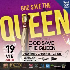 God Save The Queen en la Cueva de Nerja en Málaga