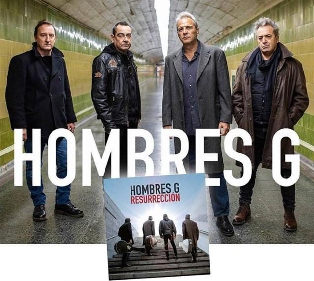 Hombres G presentan Resurrección en Málaga