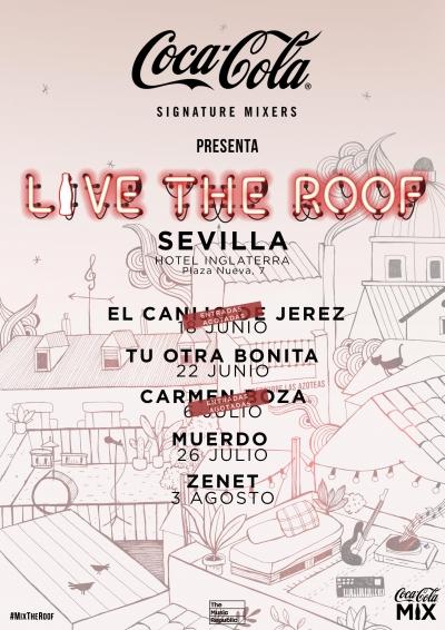 Live the Roof Sevilla 2019 en Hotel Inglaterra