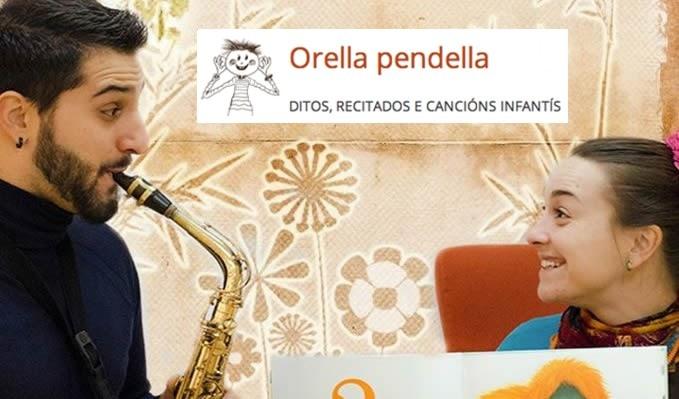 Orella pendella, música en directo para niños en Chapela