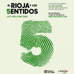 Junio, eres lo que tocas con El Rioja y los 5 Sentidos