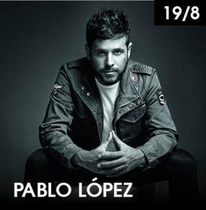 Pablo López en Starlite Marbella 2019 (agosto)