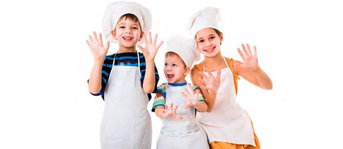Verano sano sanote, cocina para niños en Afundación