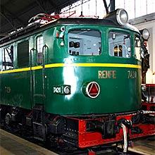 Actividades en el Museo del Ferrocarril en Madrid