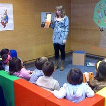 Actividades en las Bibliotecas Municipales en San Vicente de Paúl en Huesca