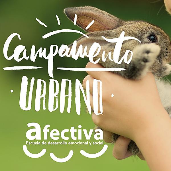 Campamento Urbano Afectiva en Glorieta Ruiz Giménez en Madrid
