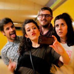 Capullos que vuelan en Teatro Lara en Madrid
