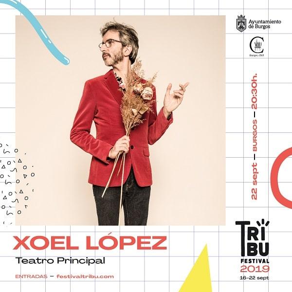 Concierto de Xoel López. Festival Tribu 2019