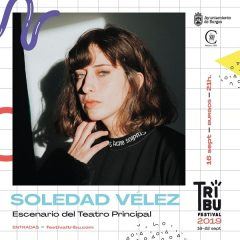 Concierto de Soledad Vélez. Festival Tribu 2019